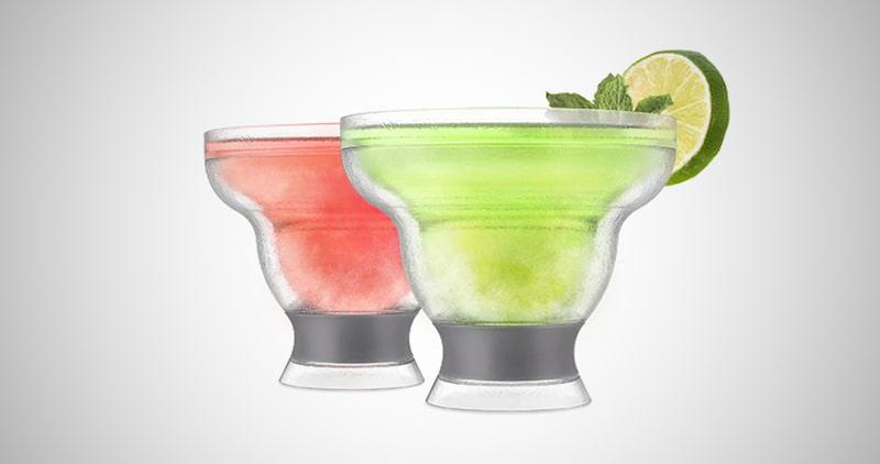 Double Wall Frozen Margarita Glass