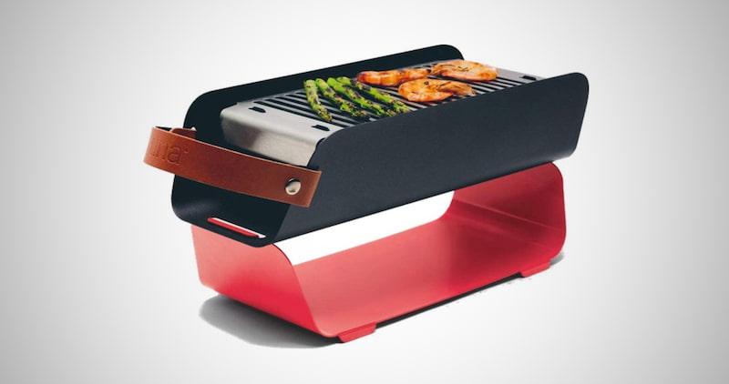 UNA Portable Charcoal Grill
