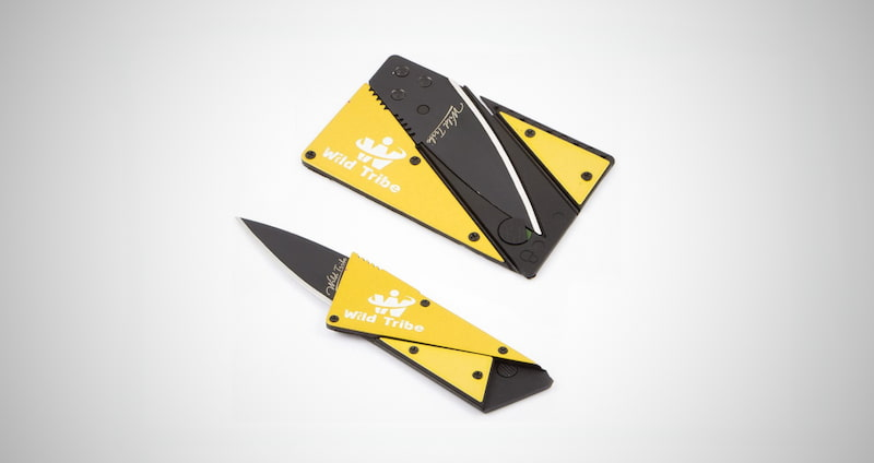 Card Shaped Folding Knife