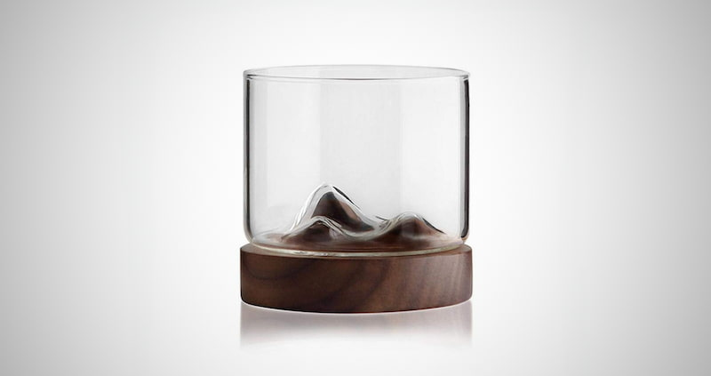 Mountain Fuji Style Wine Glass
