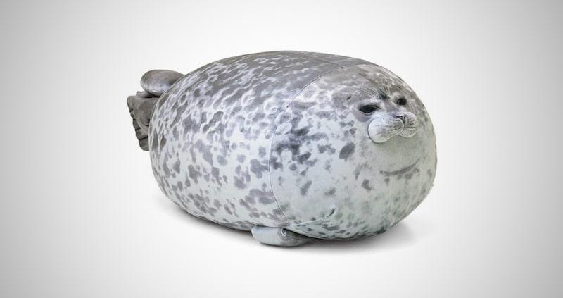 Chubby Blob Seal Pillow