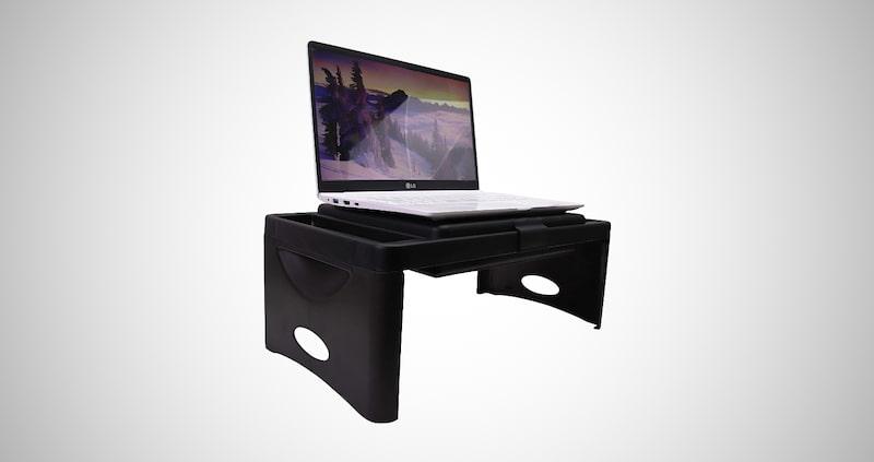 Foldable Lap Desk with Storage Pocket