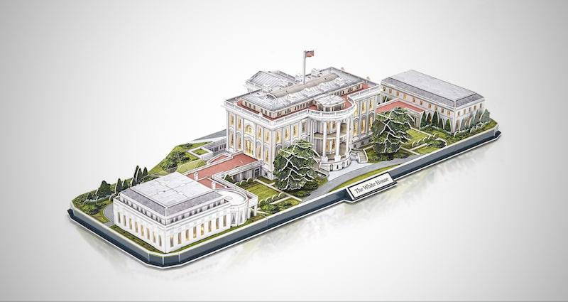CubicFun 3d White House Puzzles