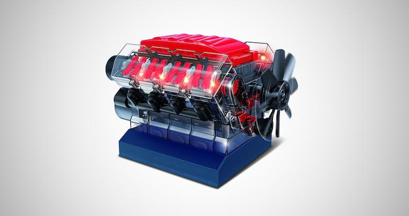 Playz V8 Combustion Engine Model