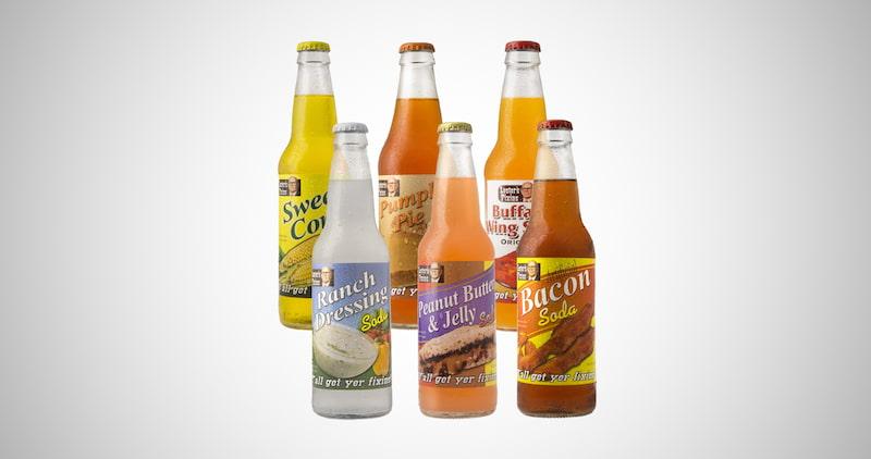 Wild Flavor Soda Pop