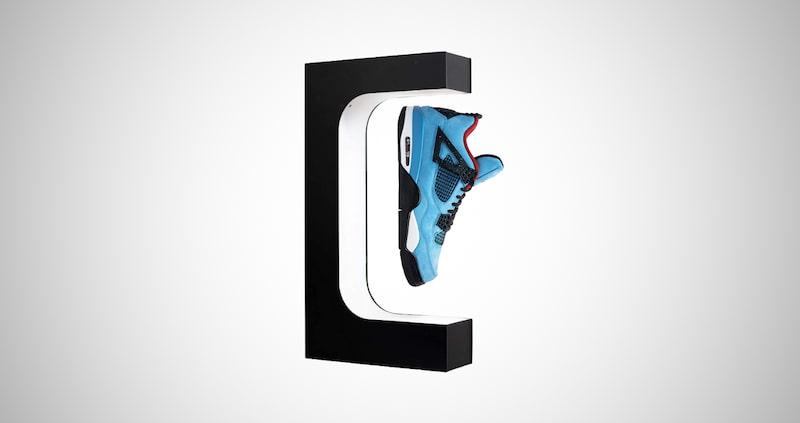 X-Float Levitating Shoe Display