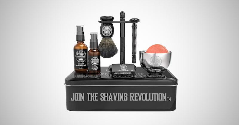 Luxury Safety Razor Shaving Set