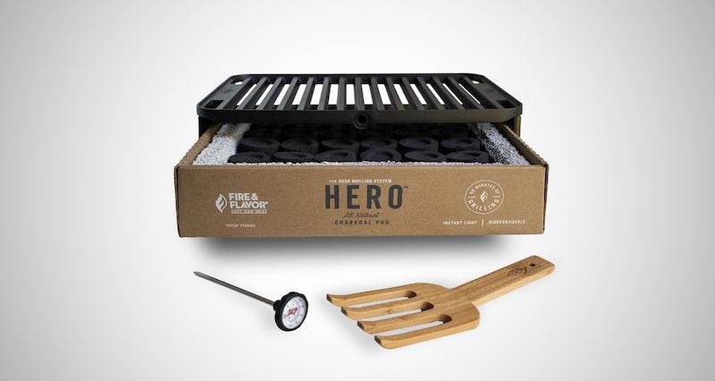 Fire & Flavor Hero System