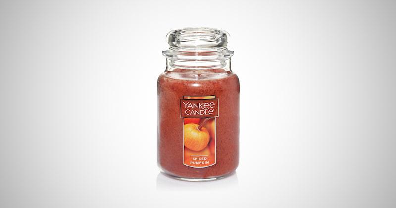 Spiced Pumpkin Jar Candle
