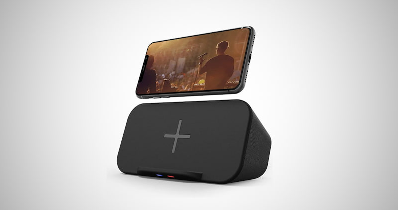 Bluetooth Speaker with Charger Stand