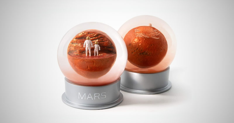 Mars Dust Globe