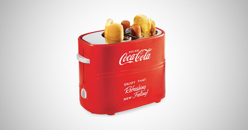 Nostalgia Coca-Cola Pop-Up Toaster