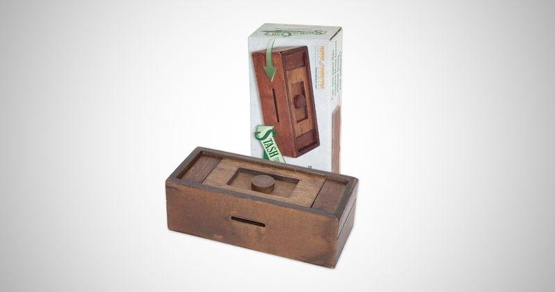 Secret Puzzle Box Brainteaser