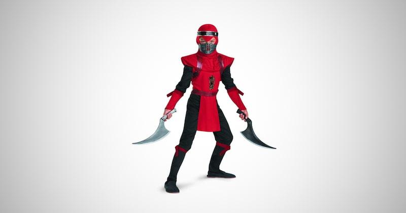 Ninja Deluxe Boys Costume