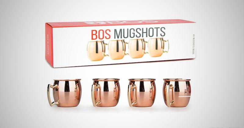 Mini Moscow Mule Copper Shot Glasses