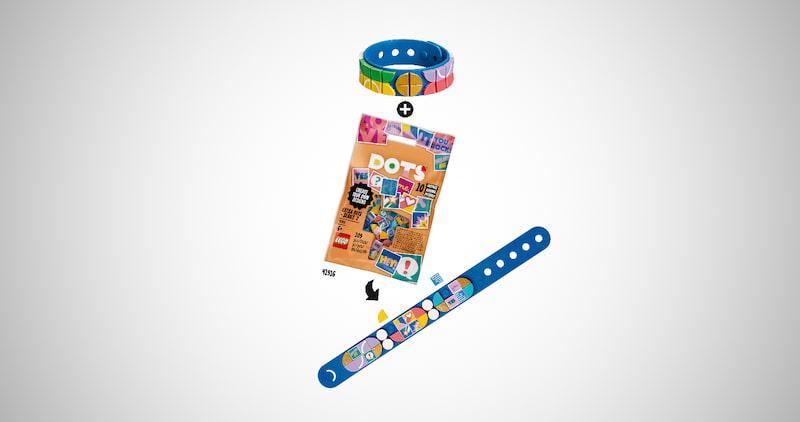 Lego Dots Go Team! Bracelet