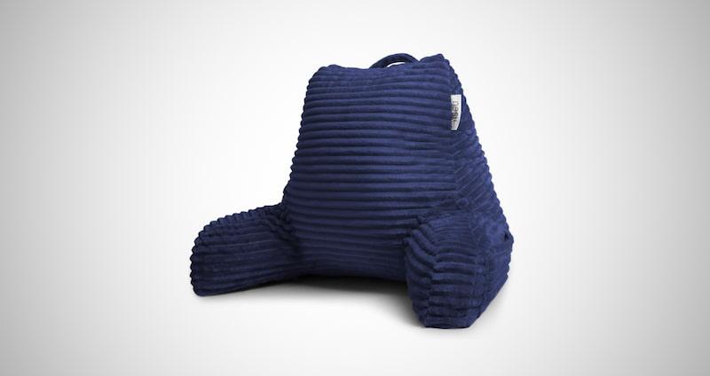 Nestl Cut Plush Striped Reading Pillow