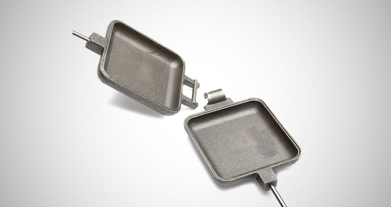 Square Pie Iron