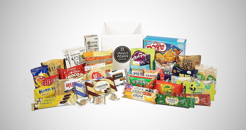 Korean Snack Box Variety Pack
