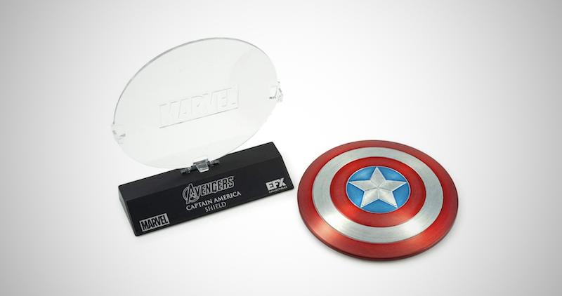 Captain America Die Cast Shield Replica
