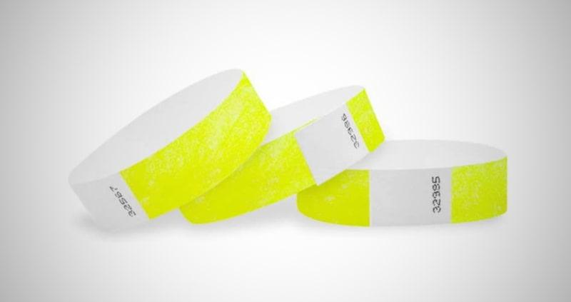 WristCo Tyvek Wristbands