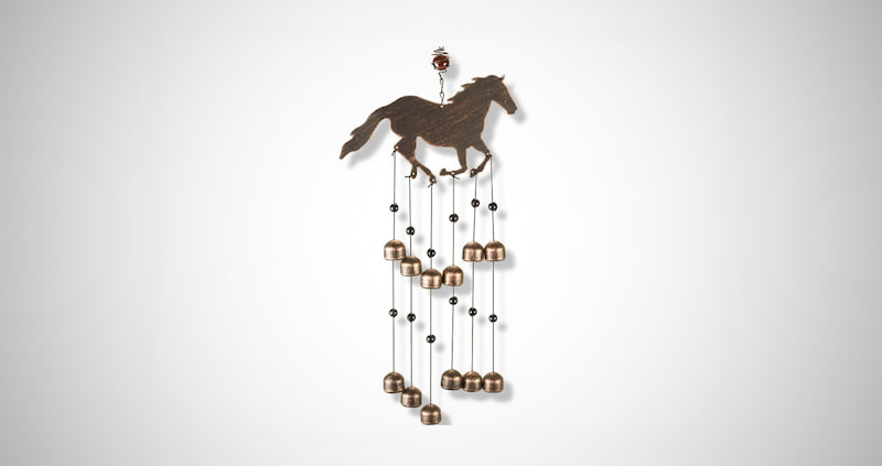 Outdoor Horse Wind Chime