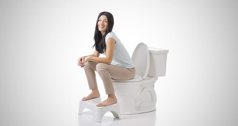 The Original Bathroom Toilet Stool