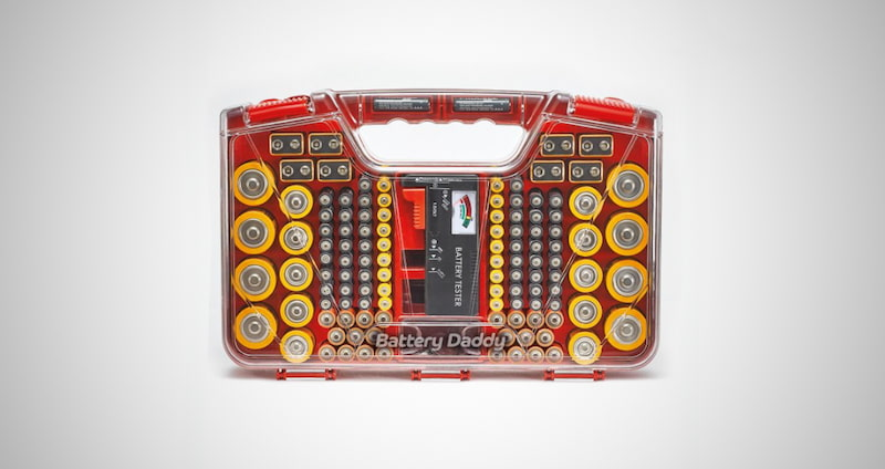 Ontel Battery Organizer