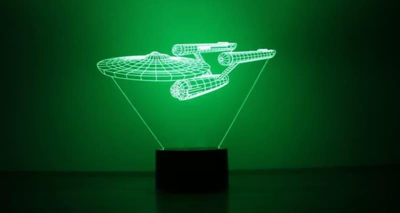 Star Trek Battleship Desk Lamp