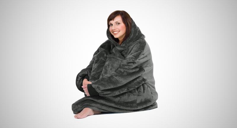 Catalonia Oversized Hoodie Blanket