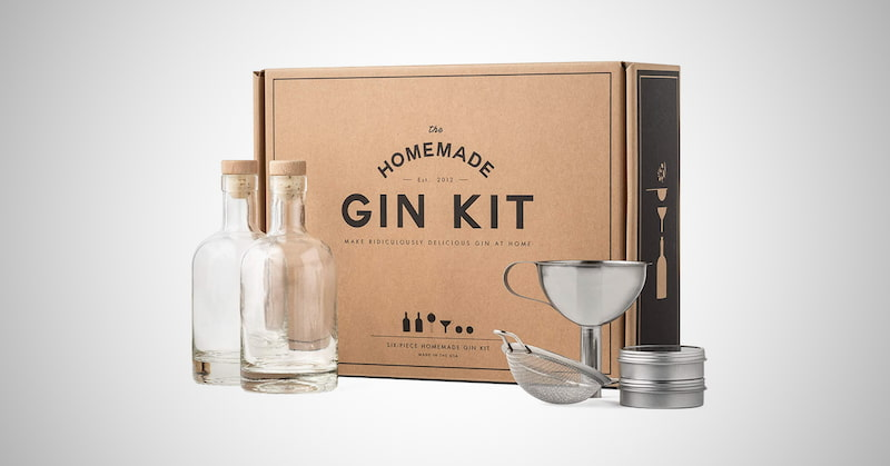W&P Homemade Gin Kit