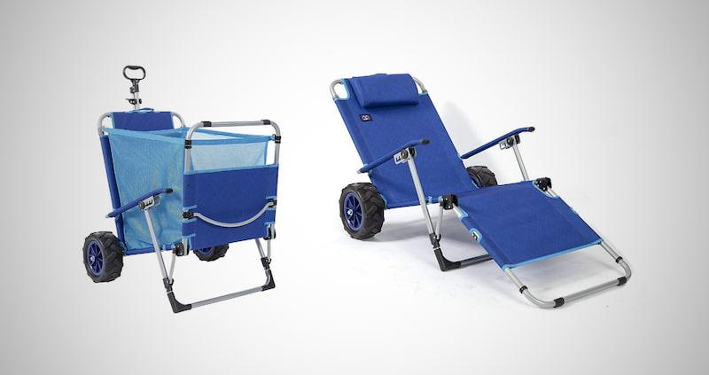 MacSports 2-in-1 Beach Cart