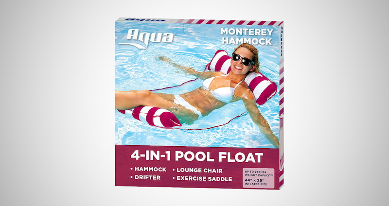 Aqua 4-in-1 Pool Hammock