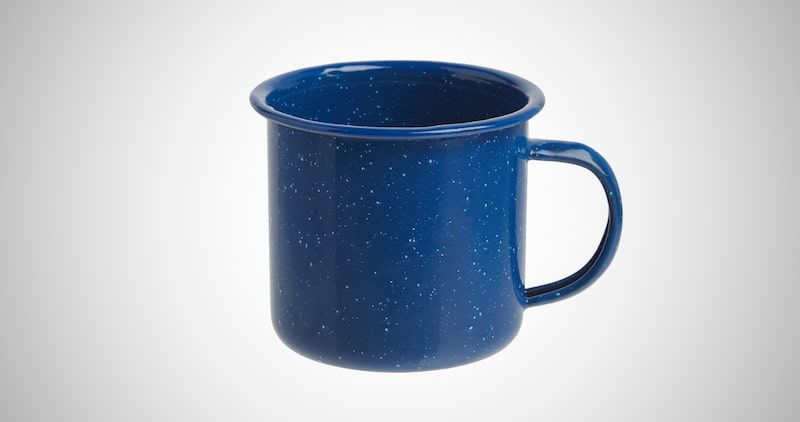 Coleman Enamelware Coffee Mug
