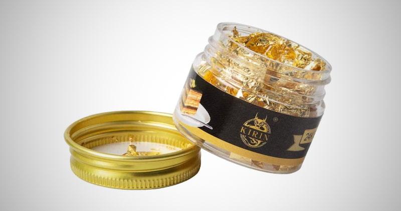 Edible Genuine Gold Leaf Flakes