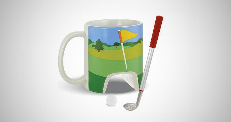 Sports Golf Mug with Putter Pen