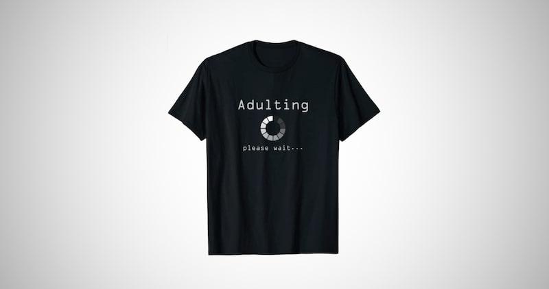 Adult 18th Birthday T-Shirt