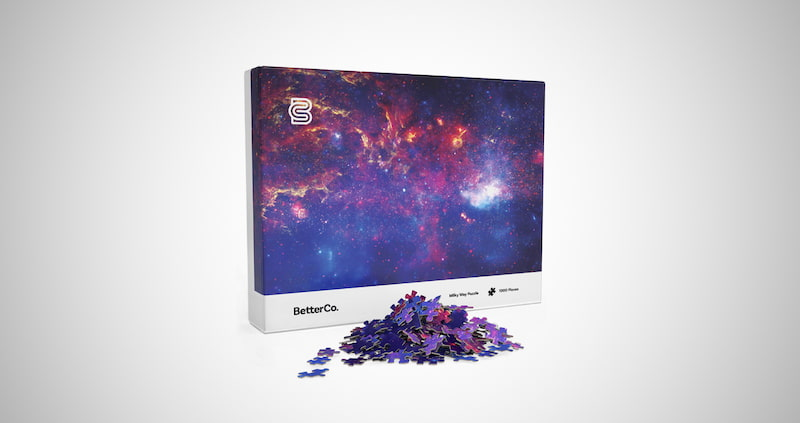 BetterCo Milky Way Puzzle 1000 Pieces