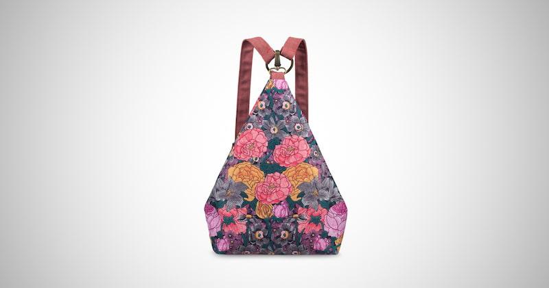 Bohemia National Style Canvas Backpack