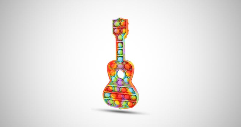Pop Fidget Guitar