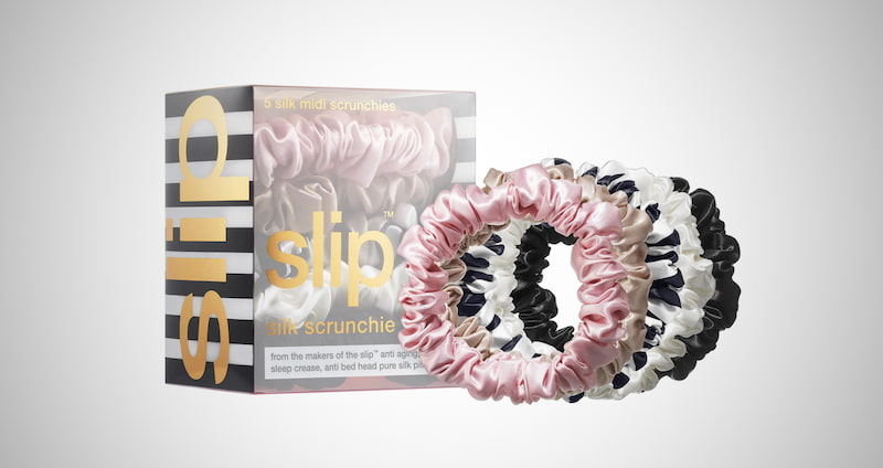 Slip Silk Midi Scrunchies
