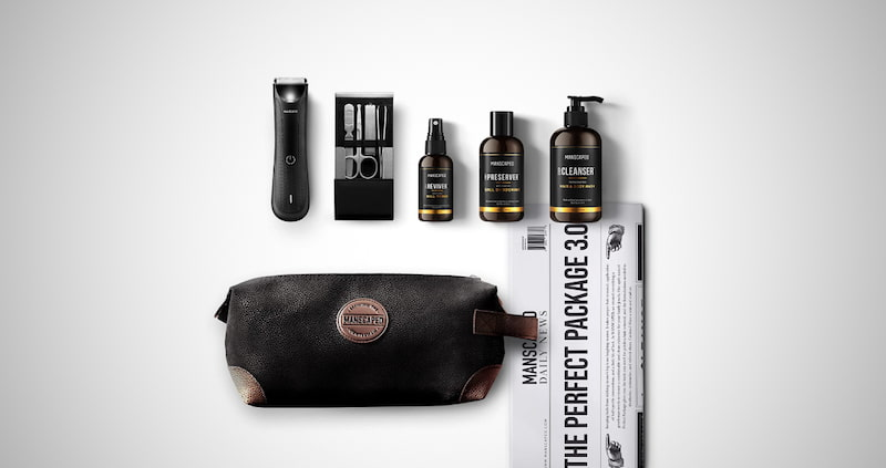 Manscaped Perfect Package 3.0 Kit Contains