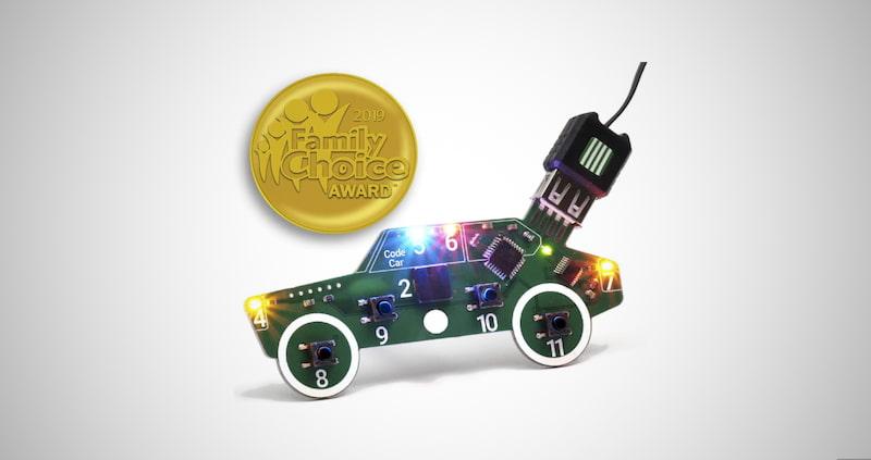 Code Car Circuit Toy