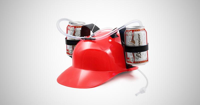 Can Holder Drinker Hat