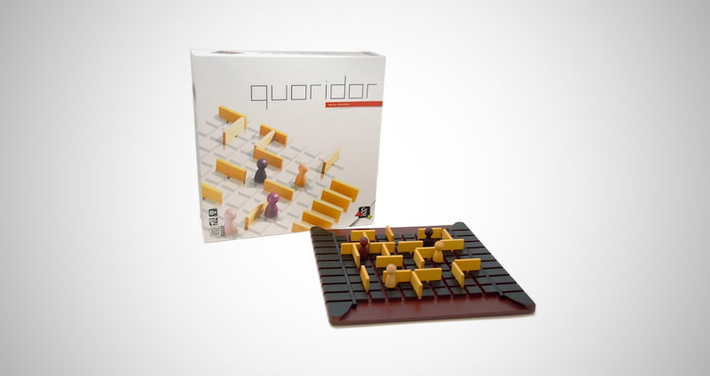 GIGAMIC Quoridor Strategy Game