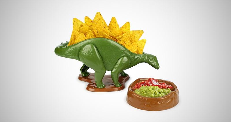 NACHOsaurus Dip and Snack Dish Set