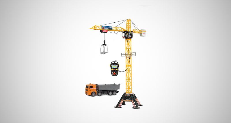 Mega Crane and Truck Vehicle