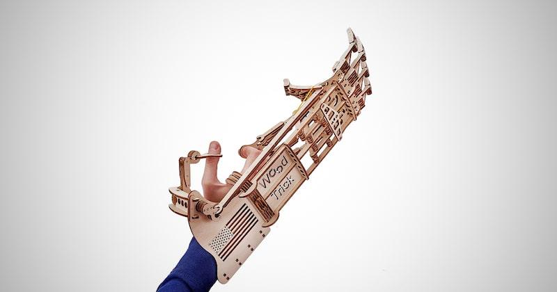 Wooden Robot Hand