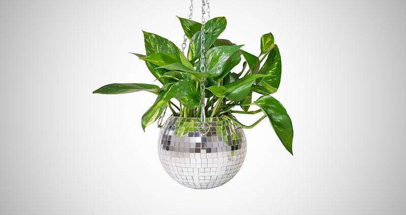 Disco Ball Planter