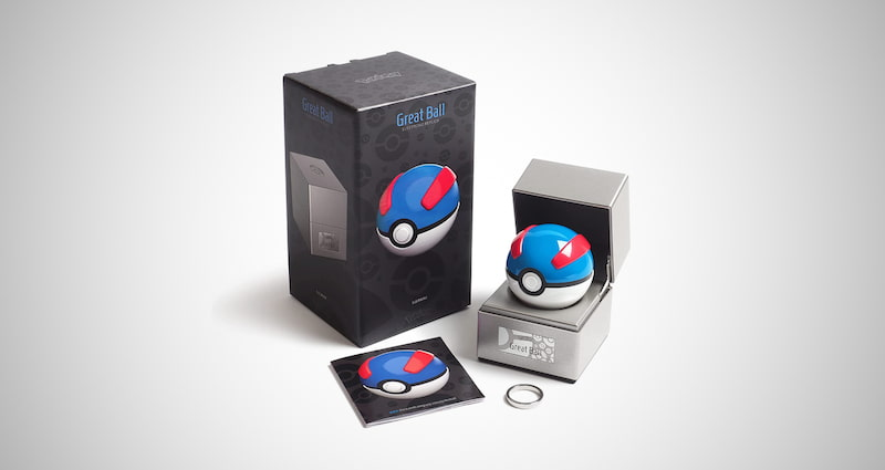 Poke Ball Authentic Replica